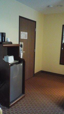 Best Western York Inn: Refrigerator