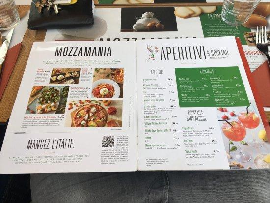pizzeria del arte carte La carte   Picture of Restaurant Del Arte Brignais   Tripadvisor