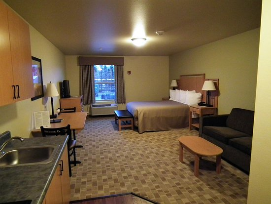 Juneau Aspen Suites Hotel: Single Queen Suite