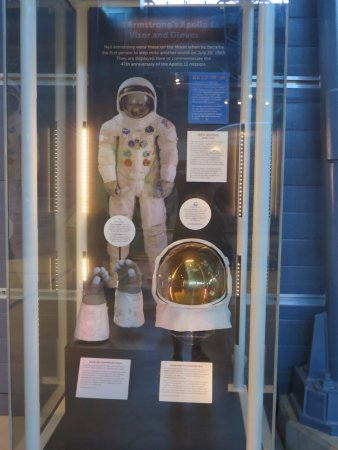 Chantilly, VA: Neil Armstrong's Apollo II suit