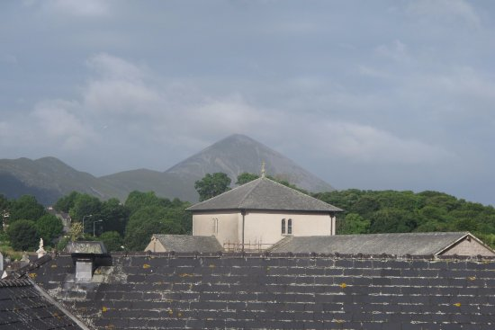 Westport Plaza Hotel A View From My Top Floor Window Balcony Saint Patrick S Mountain