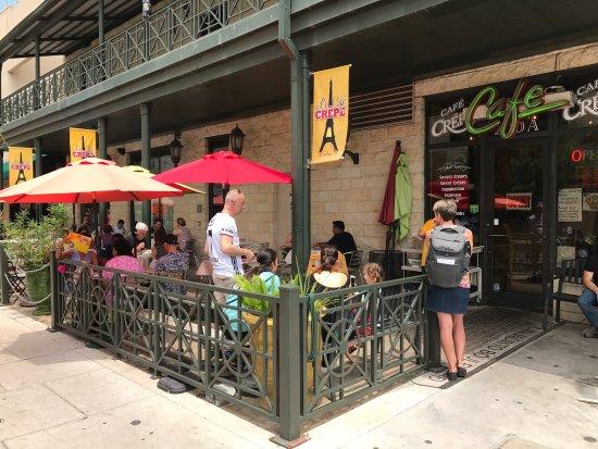 Cafe Crepe Austin Tx