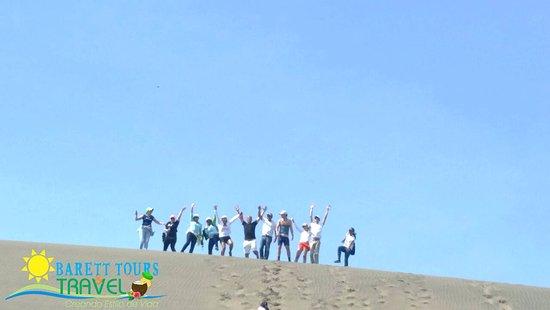 Bani, Repubblica Dominicana: Nuestra victoria por fin en la cima, con un poco de esfuerzo pero logramos subir