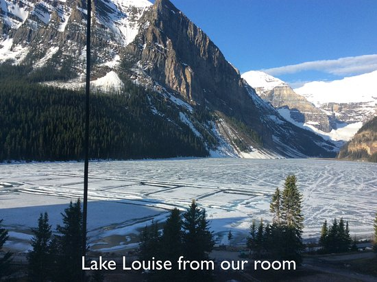 Fairmont Chateau Lake Louise : Fifth floor room