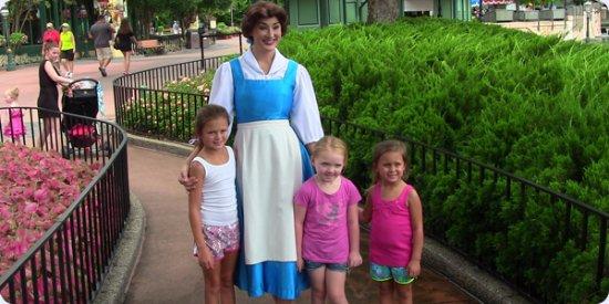 Kissimmee, FL: Family enjoying a Magical Tour at Epcot.
