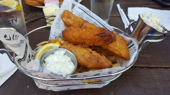 fish and chips  Very bad :( - Picture of Porter's Pub, Lodi