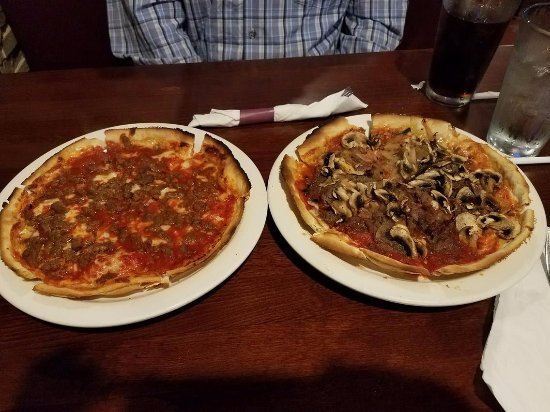 Subway Cafe: Hamburger and Philly Cheesesteak Pizzas