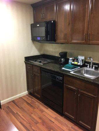 Homewood Suites by Hilton Sacramento Airport-Natomas: King bed suite