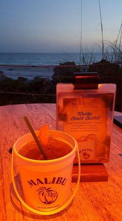 Beach House Restaurant: beach bucket