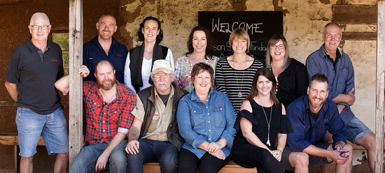 Barossa Valley, Australia: Gibson Wines Team