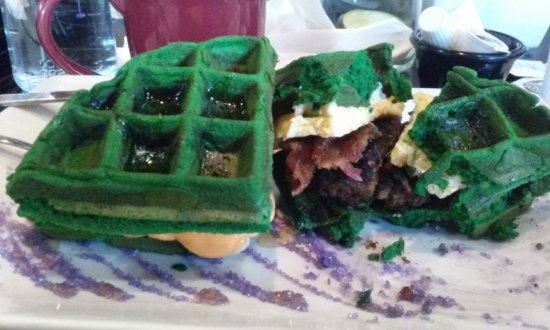 "Gahanna, OH: ""Hulk"" sandwich. It was so huge, I had to break it down so I could eat it; but it was so GOOD!."