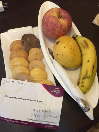 Crowne Plaza Kathmandu-Soaltee: After Pointing out several concerns, hotel management went above and beyond in order to remedy t
