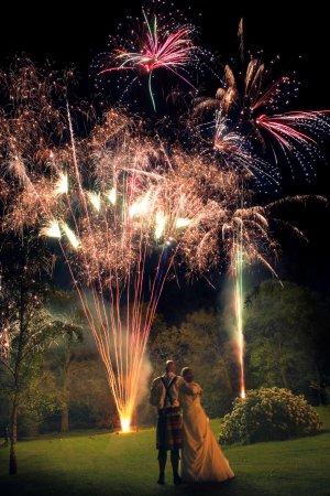 Lenwade Country House Hotel: I highly recommend the Fireworks packages.