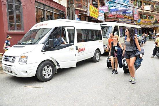 Express Bus to Sapa