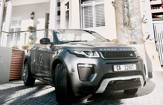 Glen Boutique Hotel & Spa: Our NEW Topless Range Rover Evoque - Grey, just arrived in the car fleet!