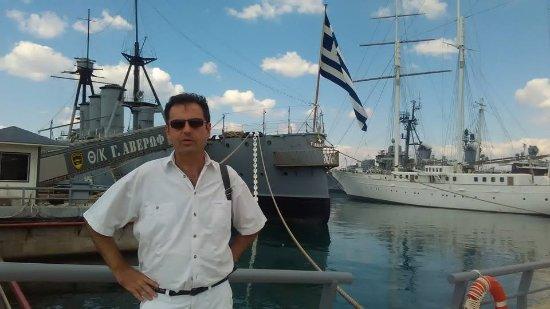 Floating Naval Museum Battleship Averof Photo