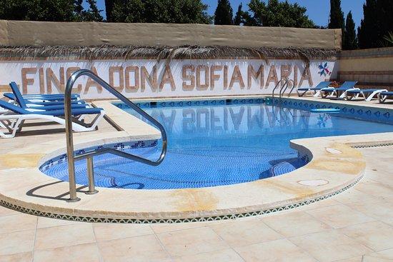 Finca Doña Sofia Maria: Piscina comunitaria