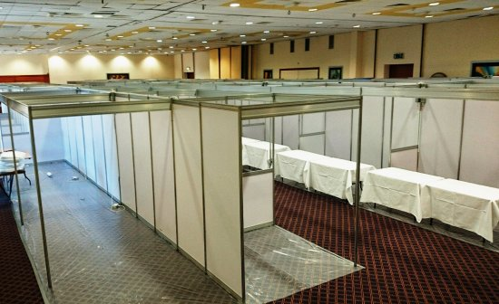 Great National South Court Hotel: 8000 sq. ft. Conference and Exhibition Space