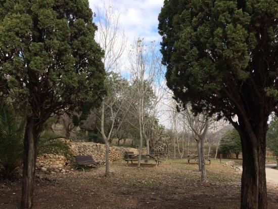 Alcalali, Espanha: Merendero exterior de la Ermita de Sant Joan de Mosquera