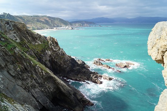 Ortigueira, Spain: Aunque parece el Caribe, es Galicia!!!!