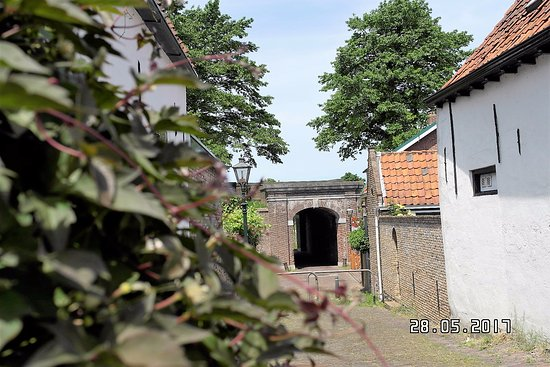 Brielle, The Netherlands: stads poort