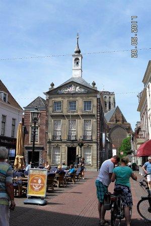 Brielle, The Netherlands: gezellig terras