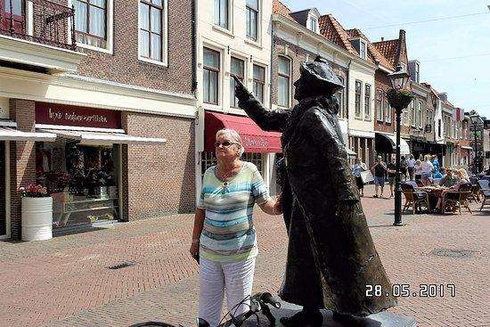 Brielle, The Netherlands: met mijn eerste koningin Wilhelmina