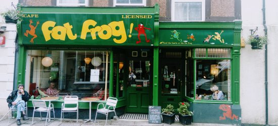 The Fat Frog cafe