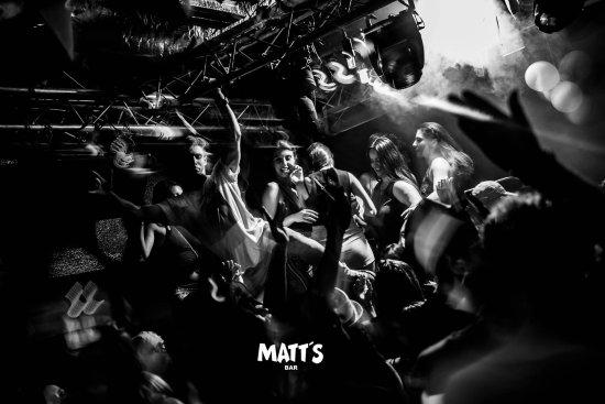 Part every night in Matt's Bar Albufeira