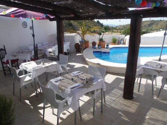 Huercal-Overa, Spain: Lunch or Dinner on our Terrace.