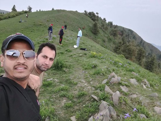 Nathia Gali, Paquistão: Near to top Miranjani