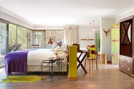 Jaci's Safari Lodge: Star Bed Suite Bedroom