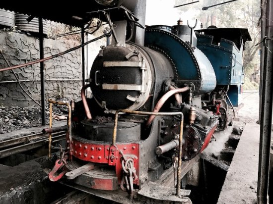 One of the two working steam engines - Picture of Darjeeling Toy ...