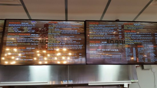 Elkridge, MD: Menu