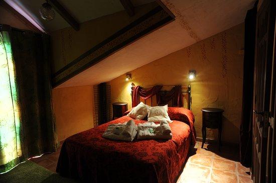 Monasterio, España: Dormitorio de la casa el Arce