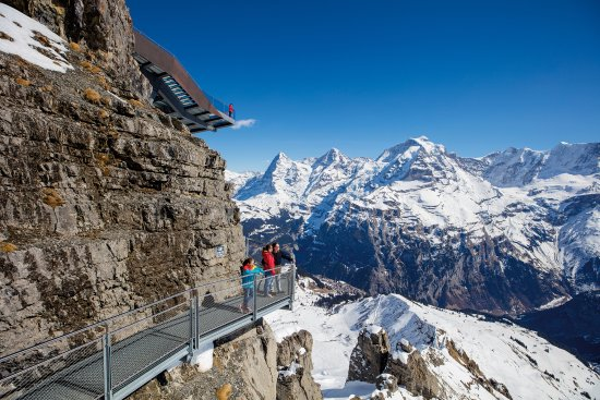 Mürren, Schweiz: THRILL WALK, Birg