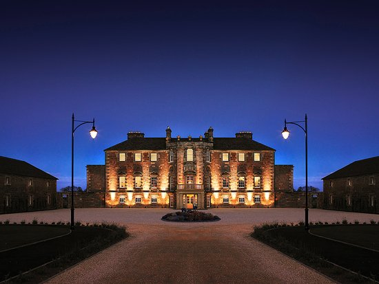 Archerfield House at Night