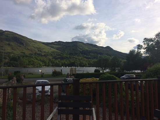 The Achray House Hotel and Lodges: View from decking