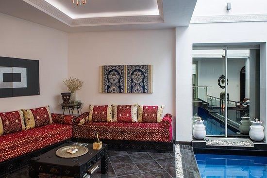 Ryad a b chaouen b b chefchaouen maroc voir les for Salon zen rabat tarifs