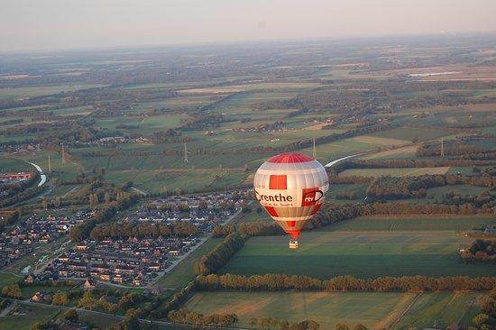 Rtv Drenthe Ballon Boven Beilen Picture Of Ikeair Frederiksoord Tripadvisor