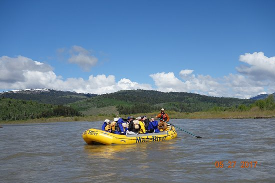 Mad River Boat Trips: Cruising down the Mud River.