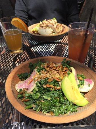 MET Back Bay: Met Green Guru and Back Bay Chopped salads