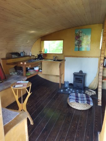 Machynlleth, UK: Living space