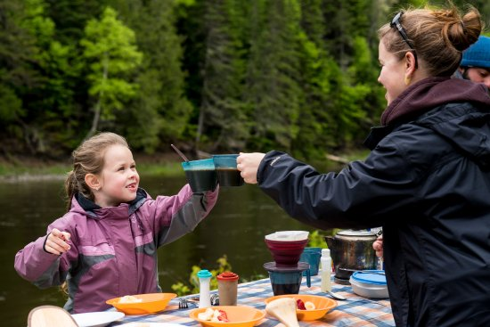 Kedgwick River, Canadá: Activitée familiale
