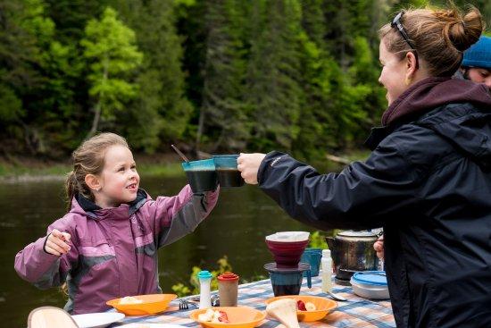 Kedgwick River, แคนาดา: Activitée familiale