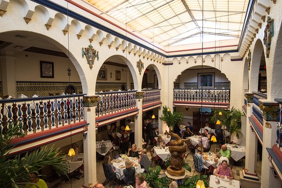 The Famous Columbia Restaurant Is Footsteps Away Picture Of Hilton Garden Inn Tampa Ybor