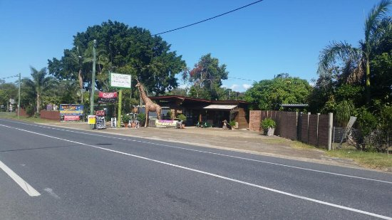 Bororen, Australia: nettes Cafe