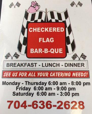ซาลิสบิวรี, นอร์ทแคโรไลนา: Checkered Flag Barbecue