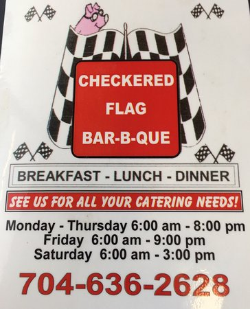 Salisbury, NC: Checkered Flag Barbecue