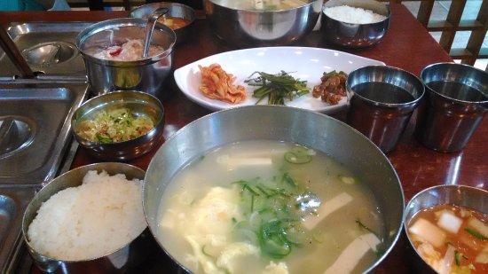 Mugyodong Bugeokukjib : お豆腐もたっぷり入っています